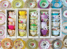 Eurographics 1000 - Colorful Tea Cups (Outlet)
