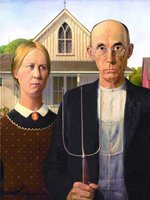 Eurographics 1000 - Grant Wood: American Gothics (Outlet)