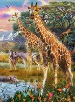 Ravensburger 150 (XXL) - Kleurrijke Savanne
