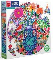 eeBoo 500 (XL) - Birds and Flowers