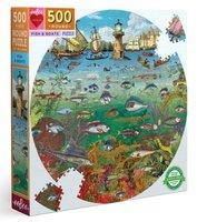 eeBoo 500 (XL) - Fish and Boats