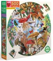eeBoo 500 (XL) - Mushrooms and Butterflies