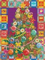 Cobble Hill 275 (XXL) - Christmas Tree Quilt