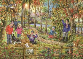 House of Puzzles 250 (XL) - Autumn Leaves