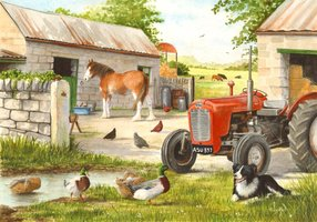 House of Puzzles 250 (XL) - Dog & Duck