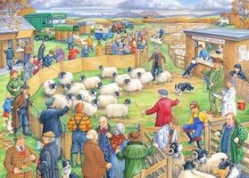 House of Puzzles 250 (XL) - Sheep Sale
