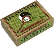 Matchbox puzzle - Yin and Yang