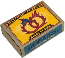 Matchbox puzzle - Rings of Fire