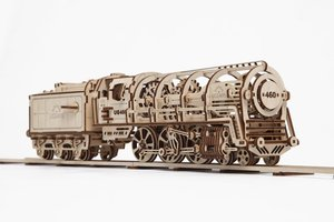 Ugears - Locomotive / Locomotief modelbouwpakket