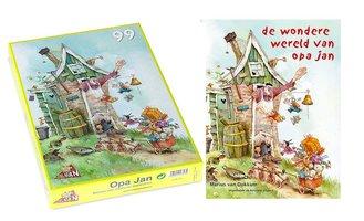 Marius van Dokkum - Set legpuzzel en boek Opa Jan