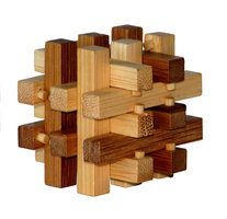 3D Bamboo puzzle - Slide