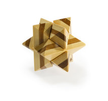 3D Bamboo puzzle - Superstar