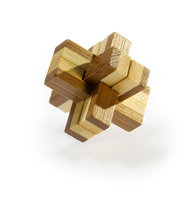 3D Bamboo puzzle - Knotty