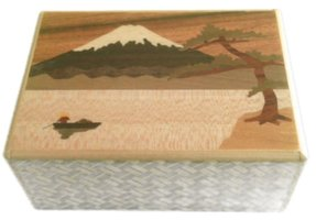 Japans Puzzelkistje Ashinoko and Boat 7 stappen