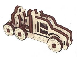 Ugears fidget - Rescue Car