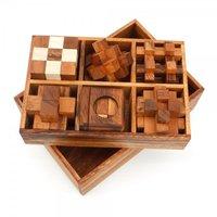 Box met 6 puzzels