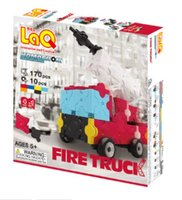 LaQ Hamacron Constructor Fire Truck