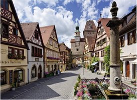 Ravensburger 500 (XL) - Rothenburg Duitsland