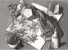 M.C. Escher - Reptielen