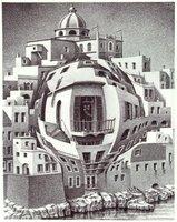 M.C. Escher - Balkon