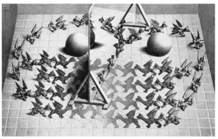 M.C. Escher - Toverspiegel