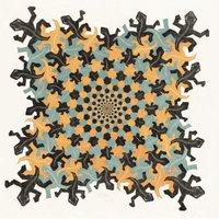 M.C. Escher - Ontwikkeling II