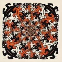 M.C. Escher - Salamanders