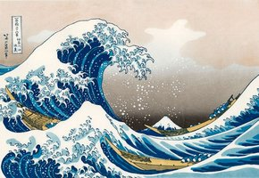 Piatnik 1000 - The Great Wave off Kanagawa