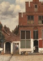 Puzzelman 1000 - Gezicht op huizen in Delft