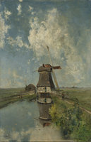 Puzzelman 1000 - Een molen aan een poldervaart