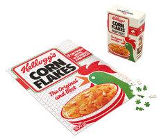 Gibsons 500 - Kellogg's Cornflakes Gift Box (dubbelzijdige puzzel)