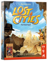 Lost Cities Het Kaartspel