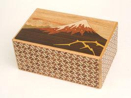 Japans Puzzelkistje Kaminari-Fuji and Tsubaki