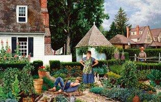 Piatnik 1000 - Lazy Gardener