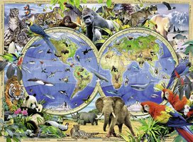 Ravensburger 300 (XXL) - World of Wildlife