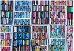 Gibsons 1000 - Rainbow Chalks