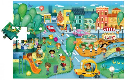 De Stad Giant Puzzel :: Ludattica