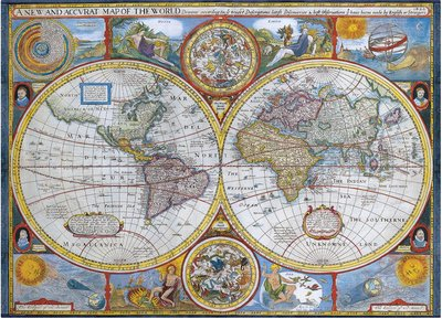 Antique World Map :: Eurographics