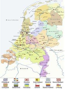 Nederland kaart CITO :: Ravensburger