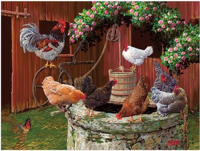 The Chickens are Well :: Cobble Hill