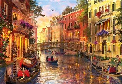 Sunset in Venice :: Educa