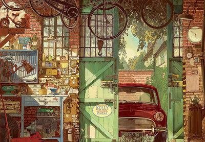 Old Garage, Arly Jones :: Educa