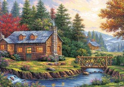Autumn on the Hills :: Art Puzzle