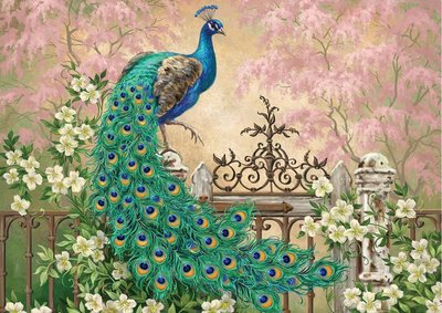 Peacock :: Art Puzzle