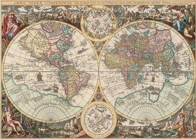 World Map :: Art Puzzle