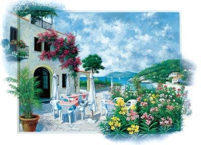 Cafe Coastal :: Art Puzzle