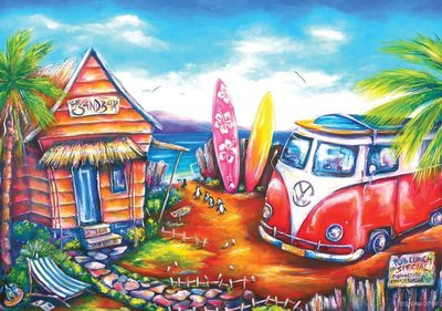 Surfing Camp :: Art Puzzle