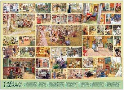 Carl Larsson :: Cobble Hill