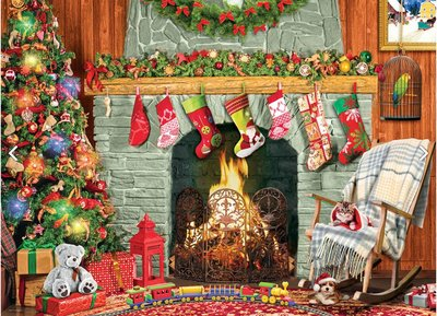 Christmas by the Fireplace :: Eurographics