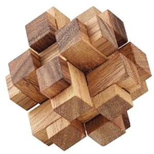 3D Square Cube :: Houten Breinbreker